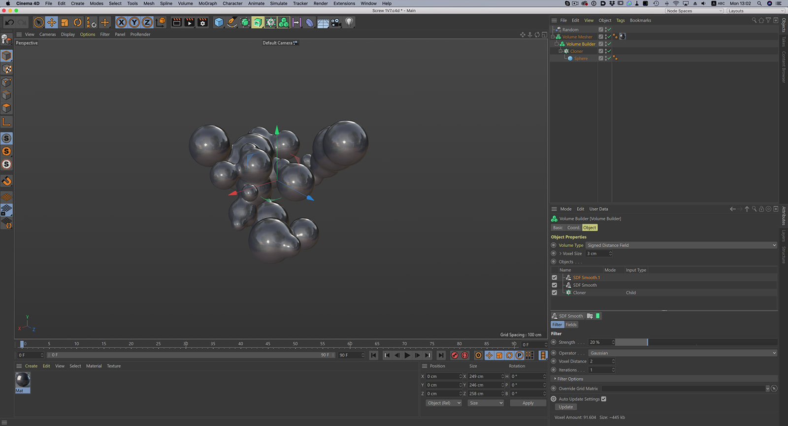 Cinema 4D R21 Interface